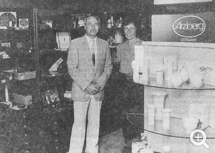 b. samstag Werbemittel & Verkaufsförderung 1984